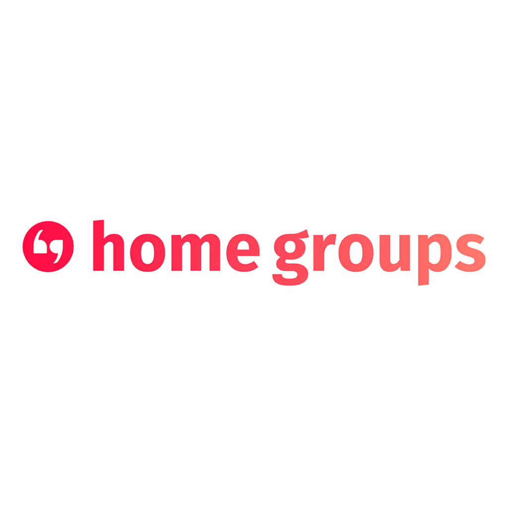 Home Groups Logo in Square